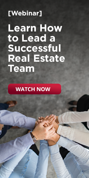 Webinar: Learn how to lead a successful real estate team